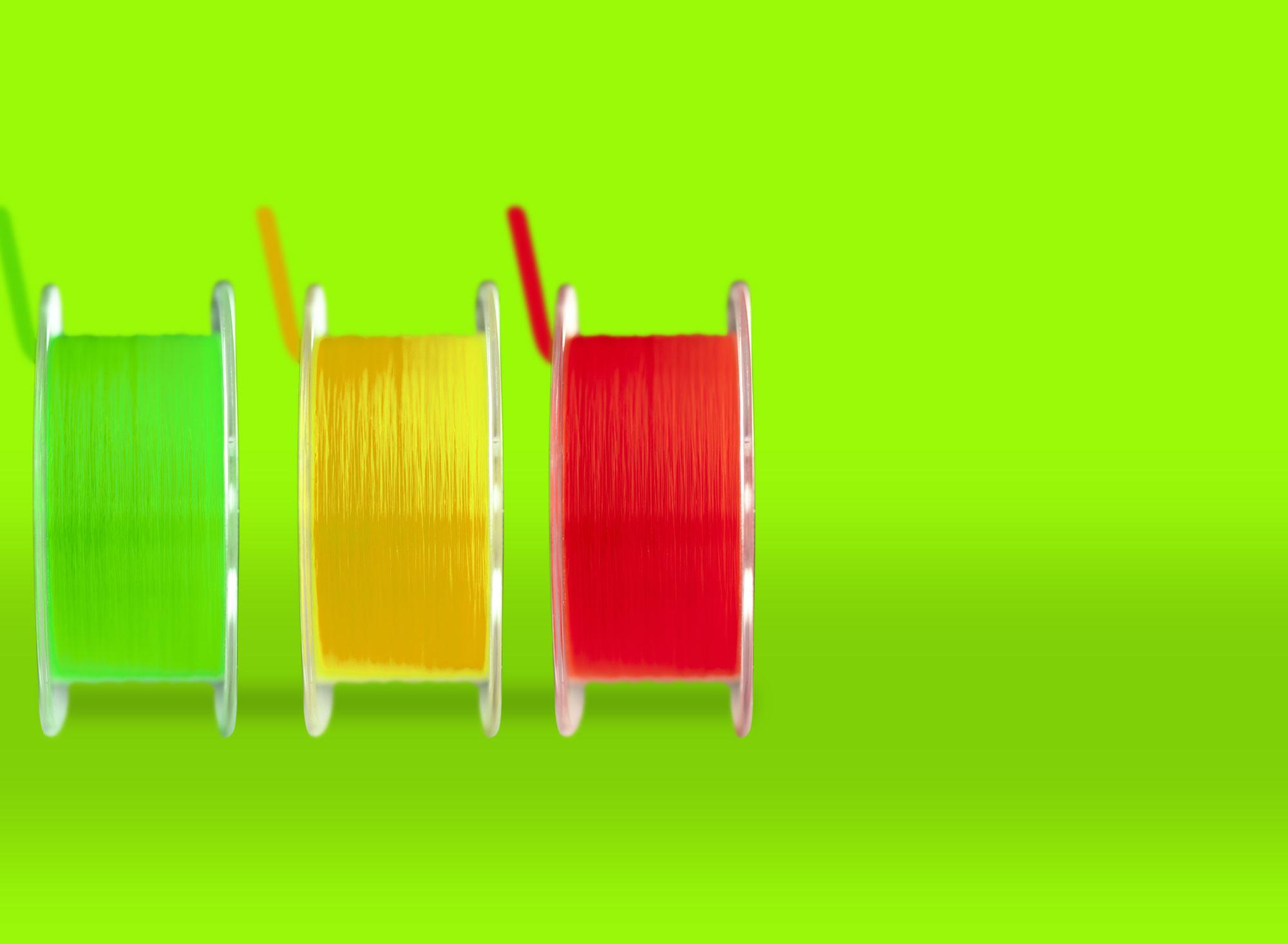 Gamme de fils de pêche TOC & TROUT 3 coloris