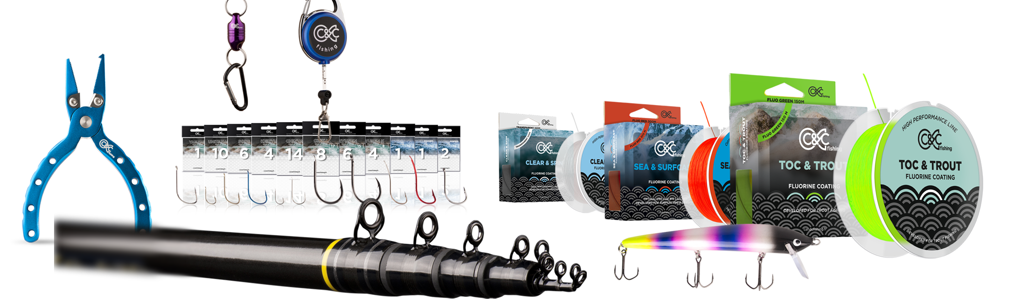 Les produits C&C Fishing design haute qualité